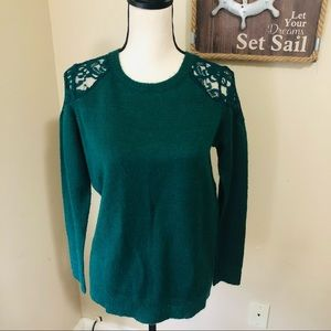JustFab Lacey Sweater
